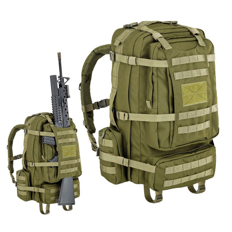 EAGLE BACK PACK CON PORTAFUCILE