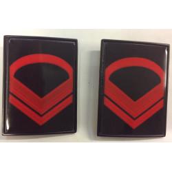 Gradi metallo Caporal Maggiore Scelto Esercito