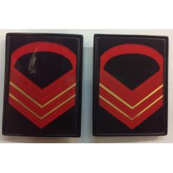 Gradi metallo Caporal Maggiore Capo Scelto Esercito