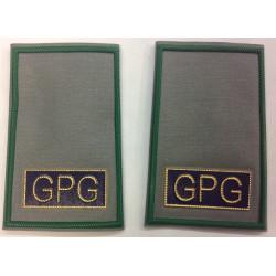 Tubolari guardie giurate grigio GPG verde