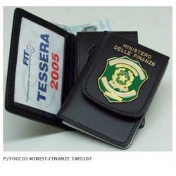 Porta Tesserino Ministero Finanze