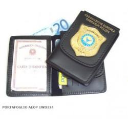 Portafoglio AEOP Associazione Europea Operatori Polizia