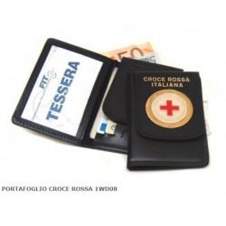 portafoglio croce rossa italiana portadocumenti croce rossa italiana