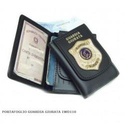 portafoglio guardia giurata