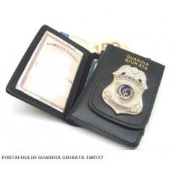 portafoglio guardia giurata GG aquila