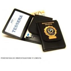 portafogli investigatore privato
