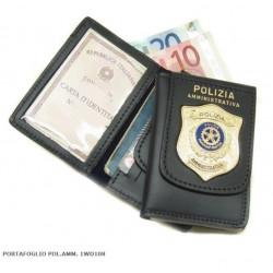 Porta Tesserino Polizia Amministrativa