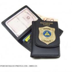 portafoglio Protezione civile volontario