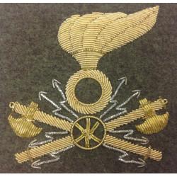 fregio trasmissioni esercito italiano per berretto