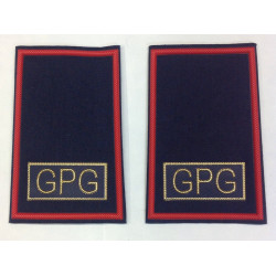 Tubolari guardie giurate blu GPG rosso