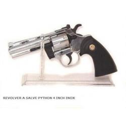 REVOLVER A SALVE PYTHON 4 INCH INOX