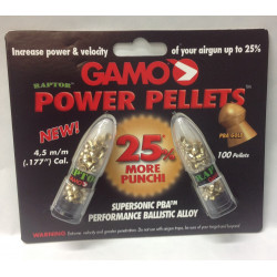 Pallini 4,5 Gamo raptor power pellets