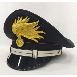 Berretto Maresciallo Carabinieri punte aperte lucida