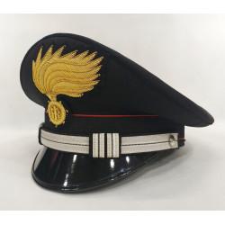 Berretto Maresciallo Ordinario Carabinieri fiamma opaca vermiglione