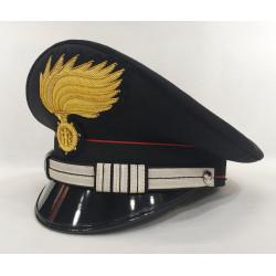 Berretto Maresciallo Capo Carabinieri fiamma opaca vermiglione