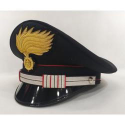 Berretto Maresciallo Aiutante Carabinieri fiamma opaca vermiglione