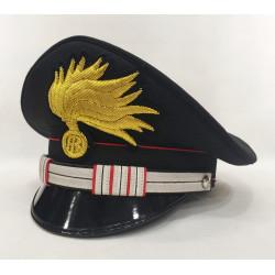 Berretto Maresciallo Aiutante Carabinieri punte aperte lucida