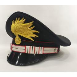 Berretto Luogotenente Carabinieri punte aperte lucida