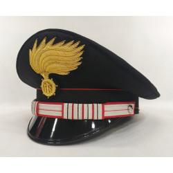 Berretto Luogotenente Carica Speciale Carabinieri fiamma opaca vermiglione