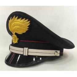 Berretto Maresciallo Carabinieri fiamma lucida vermiglione