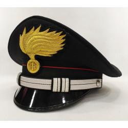 Berretto Maresciallo Ordinario Carabinieri fiamma lucida