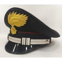 Berretto Maresciallo Ordinario Carabinieri fiamma lucida vermiglione