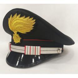 Berretto Maresciallo Aiutante Carabinieri fiamma lucida vermiglione