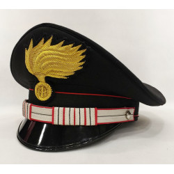 Berretto Luogotenente Carabinieri fiamma lucida