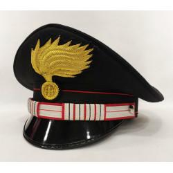 Berretto Luogotenente Carica Speciale Carabinieri fiamma lucida