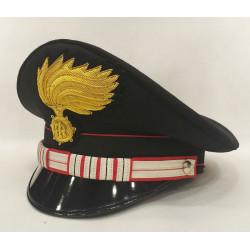 Berretto Luogotenente Carica Speciale Carabinieri fiamma lucida vermiglione