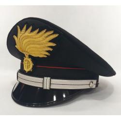 Berretto Maresciallo Carabinieri punte aperte opaca vermiglione