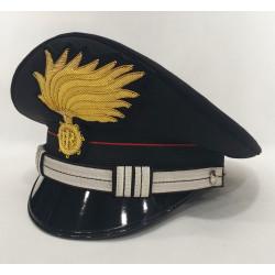 Berretto Maresciallo Ordinario Carabinieri punte aperte opaca vermiglione