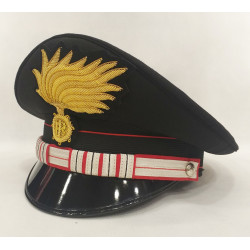 Berretto Luogotenente CS Carabinieri punte aperte opaca