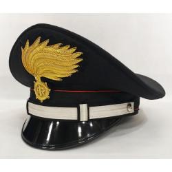 Berretto Sottotenente Carabinieri fiamma lucida vermiglione
