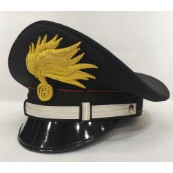 Berretto Sottotenente cc punte aperte lucida