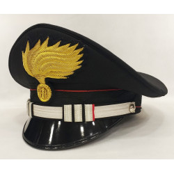 Berretto Tenente Comandante di Compagnia Carabinieri fiamma lucida
