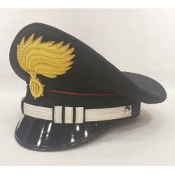 Berretto Capitano Carabinieri fiamma opaca vermiglione
