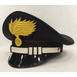 Berretto Capitano Carabinieri fiamma lucida