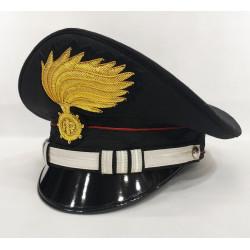 Berretto Capitano Carabinieri fiamma lucida vermiglione
