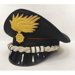 Berretto Colonnello Carabinieri punte aperte opaca vermiglione