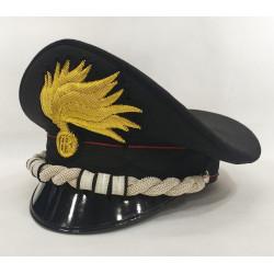 Berretto Colonnello Carabinieri punte aperte lucida