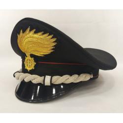 Berretto Maggiore Carabinieri fiamma lucida vermiglione