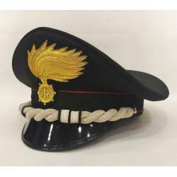 Berretto Tenente Colonnello Carabinieri fiamma lucida vermiglione
