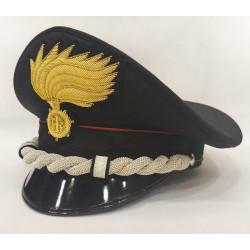 Berretto Maggiore Carabinieri fiamma opaca vermiglione