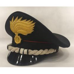 Berretto Tenente Colonnello Carabinieri fiamma opaca vermiglione
