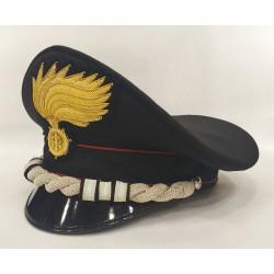 Berretto Colonnello Carabinieri fiamma opaca vermiglione
