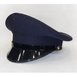 Berretto Polizia di Stato Diadema soggolo pelle