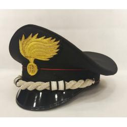 Berretto Tenente Colonnello Carabinieri fiamma lucida