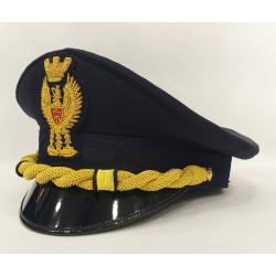 Berretto Commissario Capo Polizia di Stato Diadema