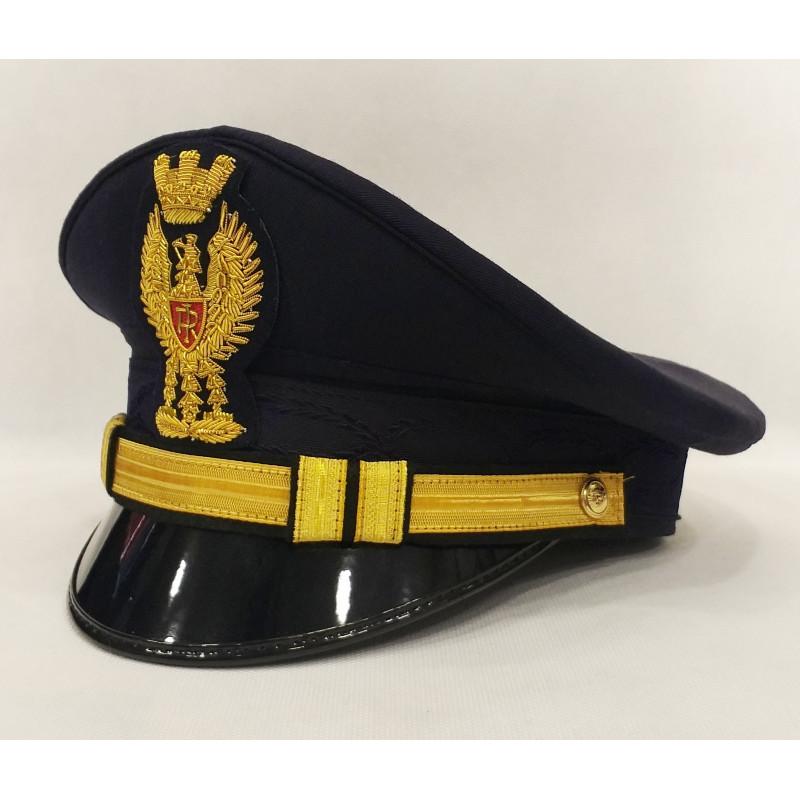 Berretto Vice Commissario Polizia di Stato Diadema